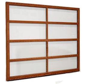 Glass Non Insulated Garage Door - Clopay Avante Collection
