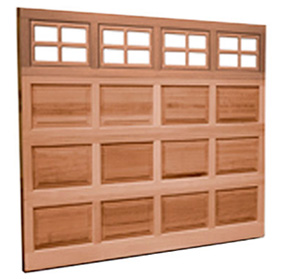 Real Natural Wood Garage Door - Clopay Classic Wood Collection
