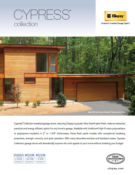 Modern Steel Collection Garage Doors Brochure