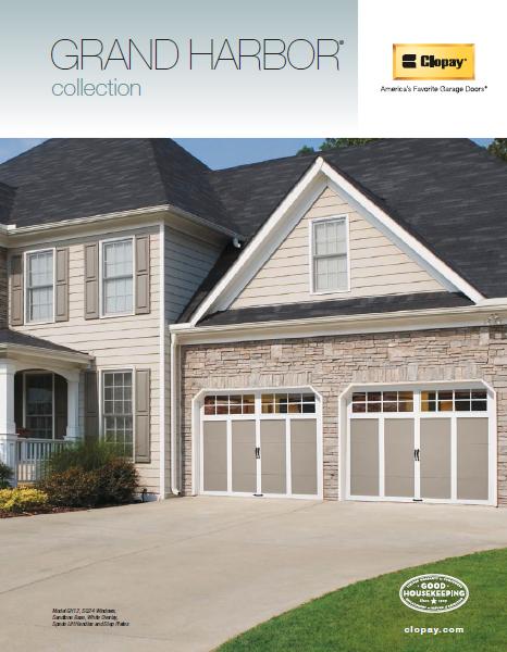 Grand Harbor Collection Garage Doors Brochure