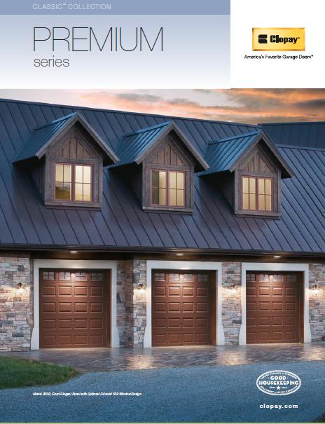 Premium Series Garage Doors Brochure